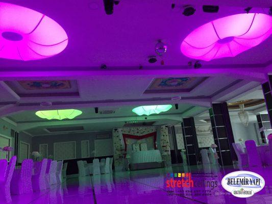 Van Çatak Gergi Tavan transparan düğün salonu (4)