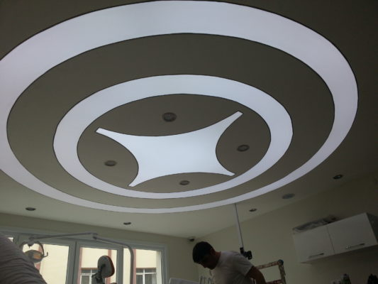 3d tekirdağ gergi tavan, tekirdağ dekorasyon, tekirdağ mimarlık, mağaza dekorasyon